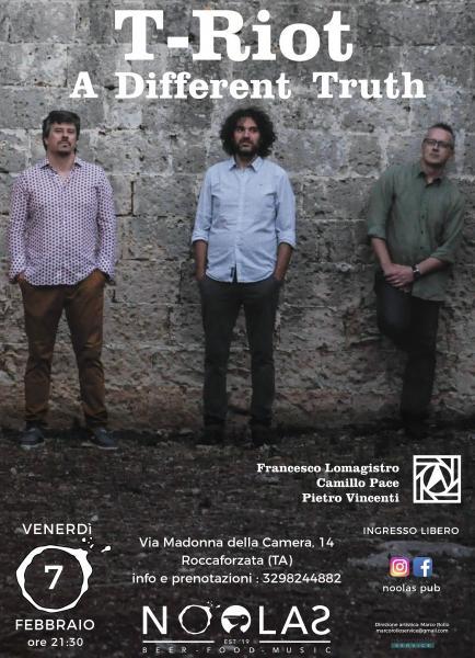 T-RIOT -  Lomagistro-Pace-Vincenti Trio