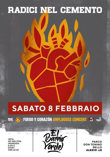Radici Nel Cemento Fuego y Corazon tour prima data del 2020!