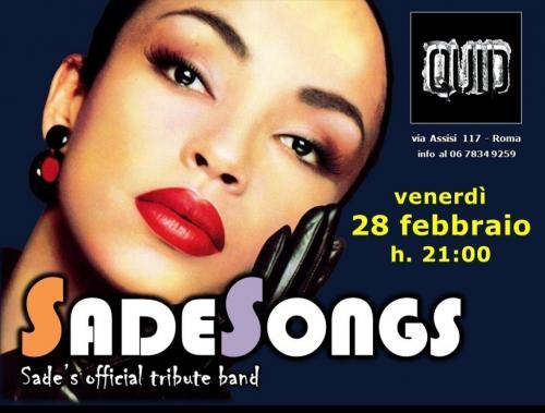 Sadesongs - Sade tribute band