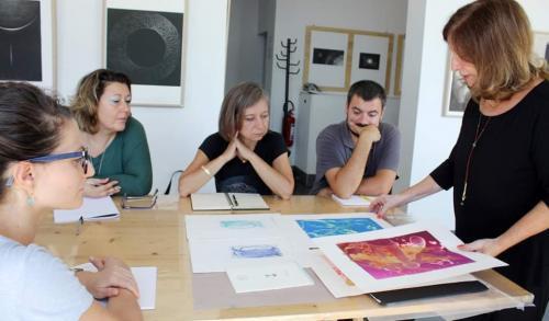 ALESSANDRA ANGELINI: INCIDERE E SPERIMENTARE CON LA LUCE - Creazione e stampa di matrici con metodologie ecosostenibili