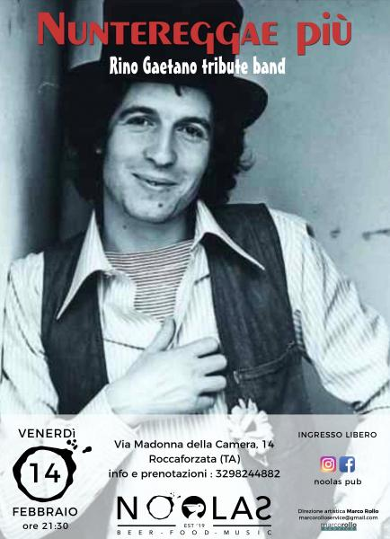 NUNTEREGGAE PIU' - Rino Gaetano tribute band