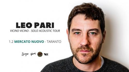 Leo Pari in concerto a Taranto