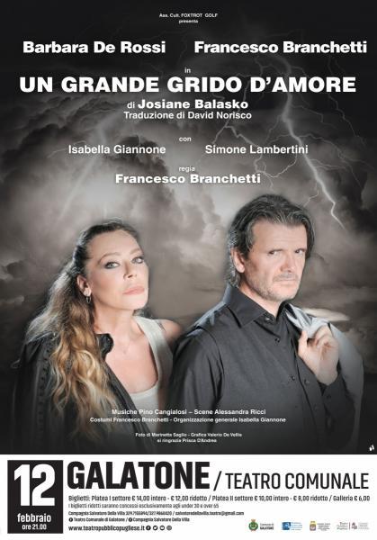 UN GRANDE GRIDO D'AMORE di Josiane Balasko con Barbara De Rossi e Francesco Branchetti