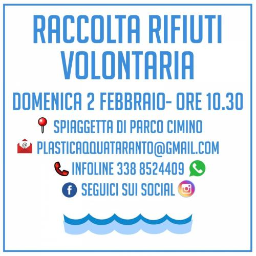 Raccolta Rifiuti Volontaria presso Parco Cimino