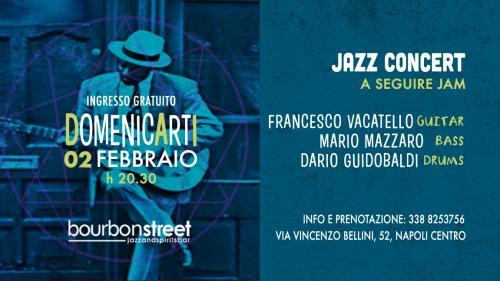 Domenica in prima serata Jazz concert nel cuore della città
