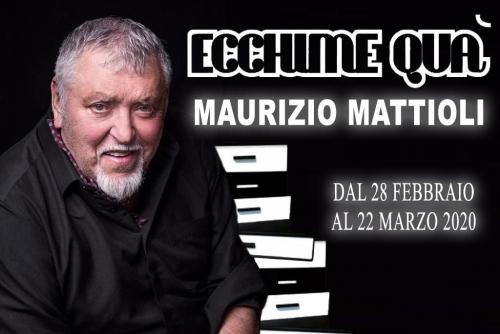 Ecchime qua, Maurizio Mattioli al Teatro Salone Margherita