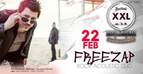 Freezap | Rock Acoustic Duo at XXL Music Bistrot