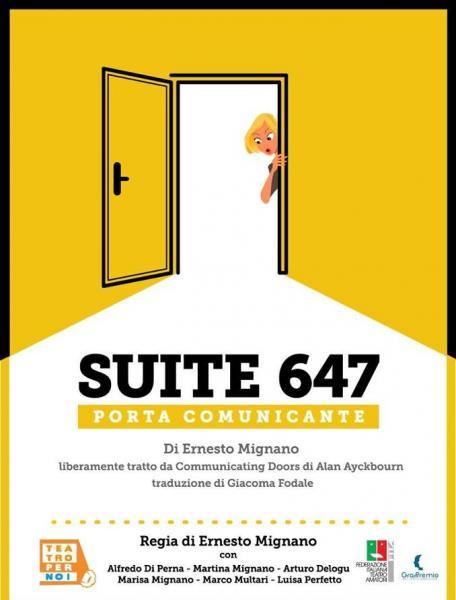 """SUITE 647 PORTA COMUNICANTE - Premio """"Rosanna Murgolo"""""""