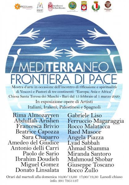 """Mostra d'Arte Internazionale """"Mediterraneo Frontiera di Pace"""""""