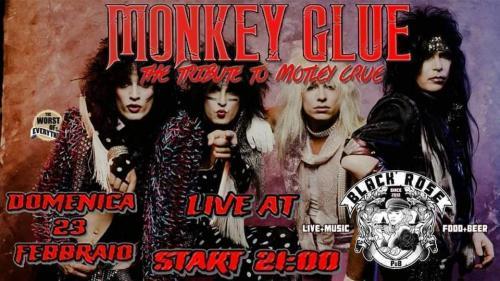 Mönkey Glüe live al Black Rose Pub