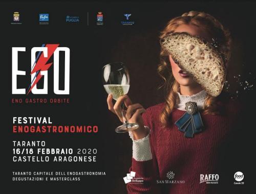 Taranto diventa capitale dell'enogastronomia con l'EGO FESTIVAL
