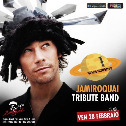 Space_Cowboys Jamiroquai tribute band a Trani