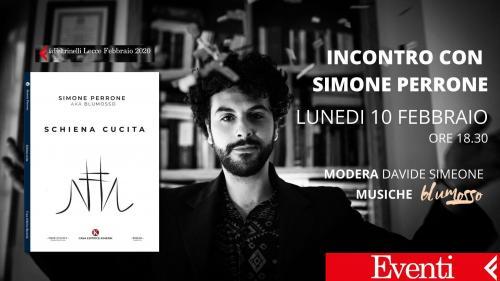 Presentazione di Schiena cucita di Simone Perrone
