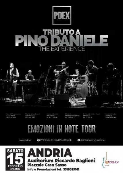 TRIBUTO A PINO DANIELE - THE EXPERIENCE