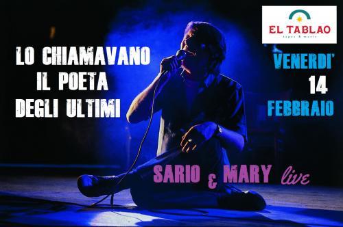 Sario & Mary Live - Omaggio a Fabrizio De Andrè
