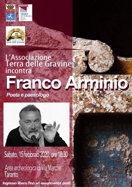 La Terra delle Gravine incontra Franco Arminio
