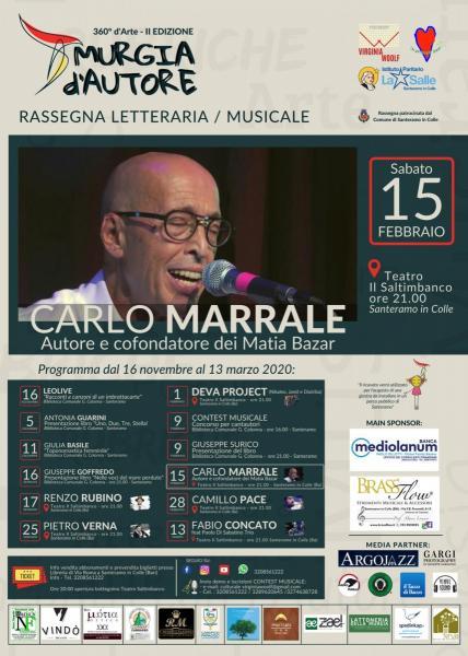 Murgia d'Autore - Carlo Marrale in concerto