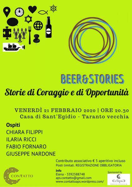 Beer&Stories - Storie di Coraggio e Opportunità