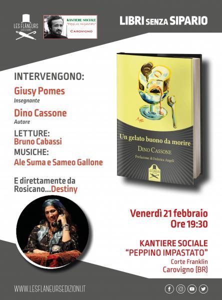"""""""Un gelato buono da morire"""" di Dino Cassone"""