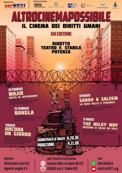 """""""AltroCinemaPossibile"""", il cinema dei Diritti Umani a Potenza"""