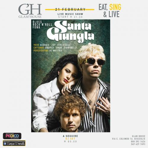 Eat, Sing & Live | Fra Cena & Musica al Glam'house