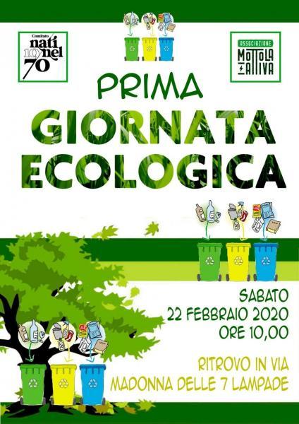 1° Giornata Ecologica 2020
