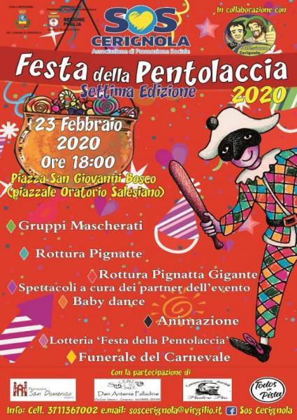 Festa Della Pentolaccia 2020 a Cerignola