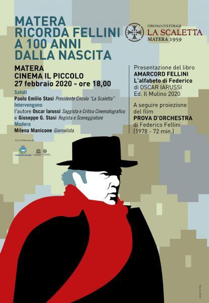 Matera ricorda Fellini a 100 anni dalla nascita