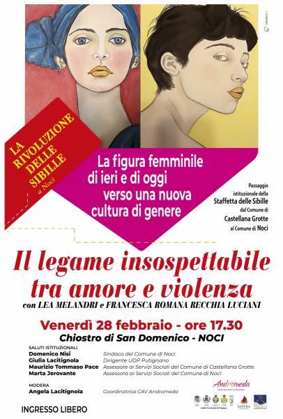 """Lea Melandri in """"Il Legame insospettabile tra amore e violenza"""""""