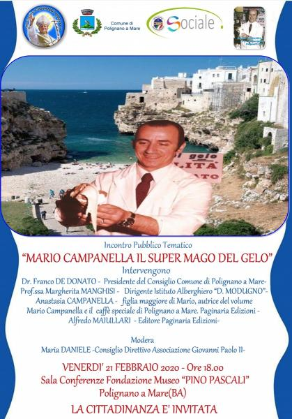 "Mario Campanella ""Il Super Mago del Gelo"""