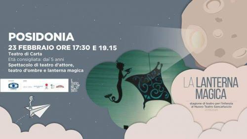 Al Nuovo Teatro Sancarluccio andrà in scena Posidonia