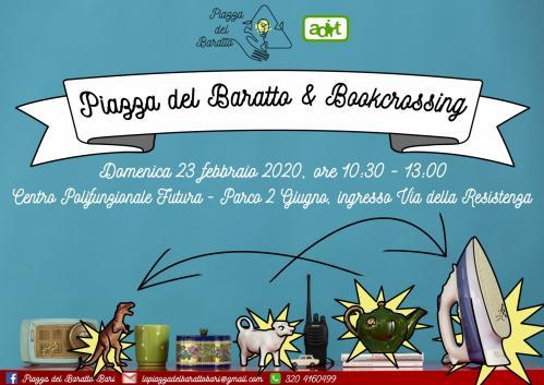 PIAZZA DEL BARATTO E BOOKCROSSING