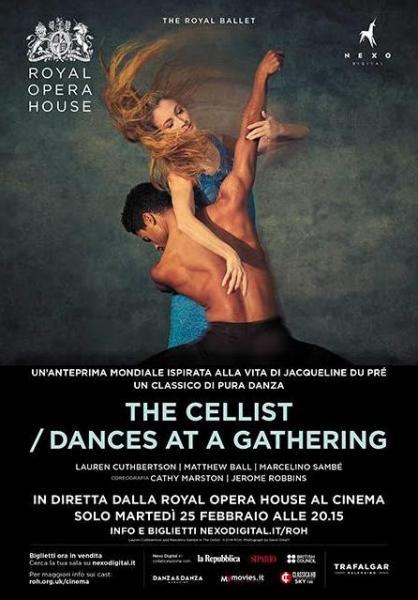 """""""The Cellist/dance at a Gathering"""" alla Multisala Paolillo"""