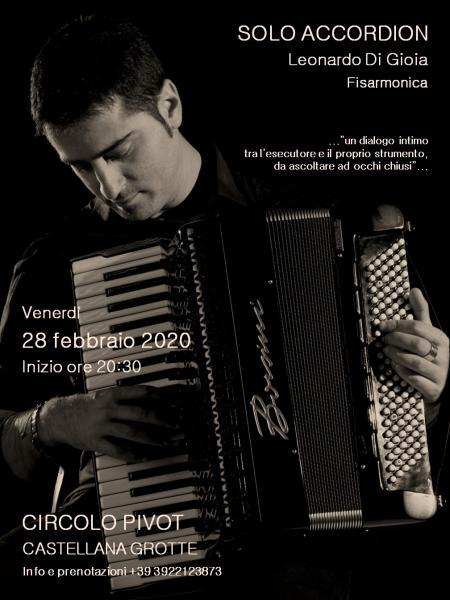 Leonardo Di Gioia - Solo Accordion