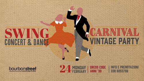 Carnival Vintage Party // Swing music & dance