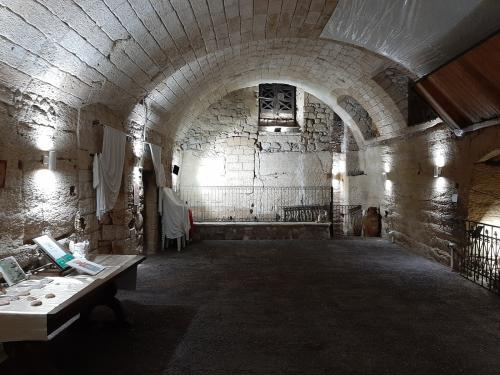 Le bellezze sotterranee del Museo Ipogeo Spartano