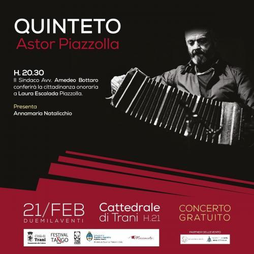 """Trani rende omaggio ad uno dei suoi """"figli"""" migliori: Astor Piazzolla"""