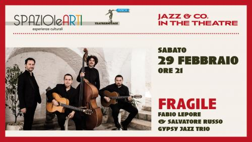"FABIO LEPORE & SALVATORE RUSSO Gipsy Jazz Trio  -  ""Fragile"""