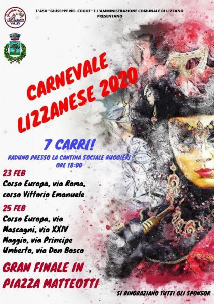 Torna il carnevale Lizzanese