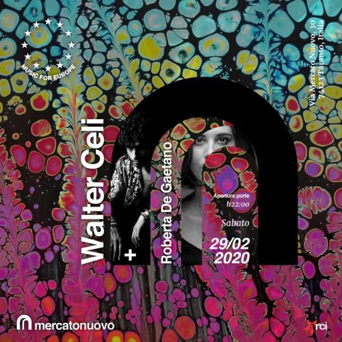 Mercato Nuovo: Walter Celi + Roberta De Gaetano Live