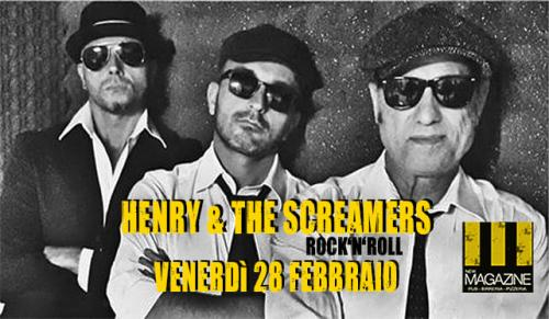 Henry & The Screamers Rock'n'roll live