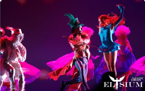 "Circus Theatre Elysium  Presenta: ""Alice in Wonderland"""