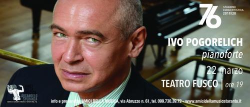 IVO POGORELICH, pianoforte