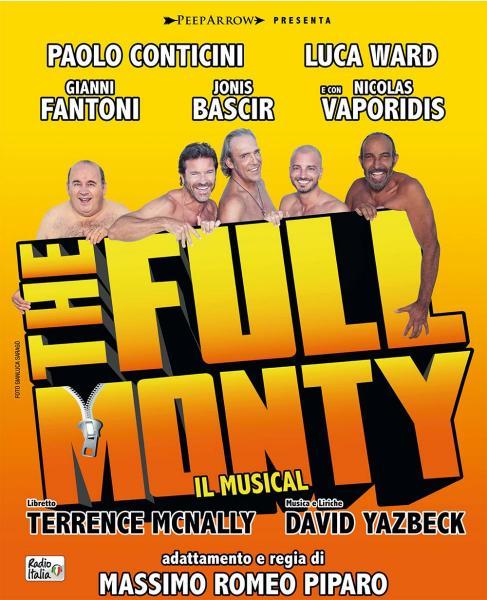 The Full Monty al Teatro Team