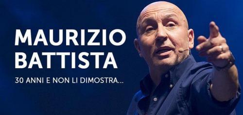 Maurizio Battista a Napoli con 30 anni e non li dimostra