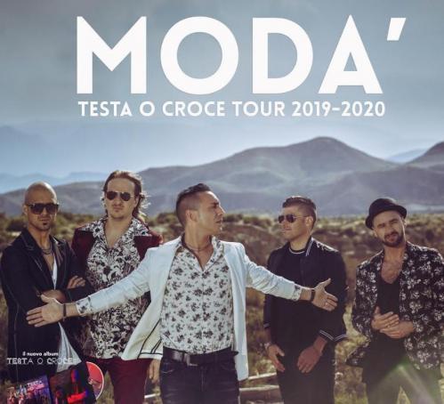 I Modà live concert al PalaCalafiore di Reggio Calabria