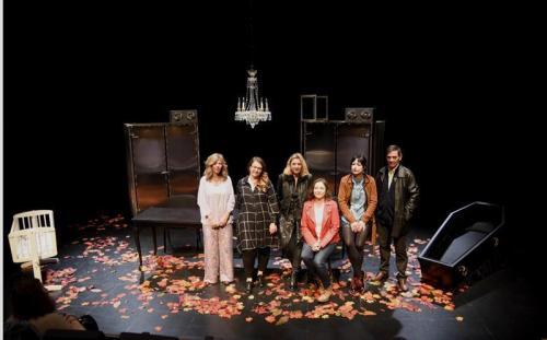 La Compañía Tranvía Teatro sul palco di Manfredonia