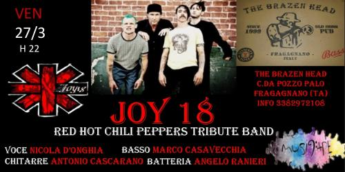 Joy18 - Red Hot Chili Peppers Tribute Band live @The Brazen Head