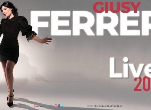 Giusy Ferreri live a Roma