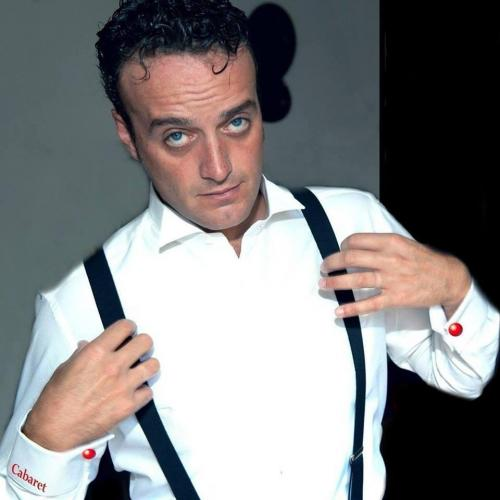 Renato Ciardo sul palco di Putignano
